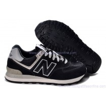 new balance 574 leather hombre