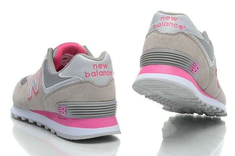new balance mujer rosa gris